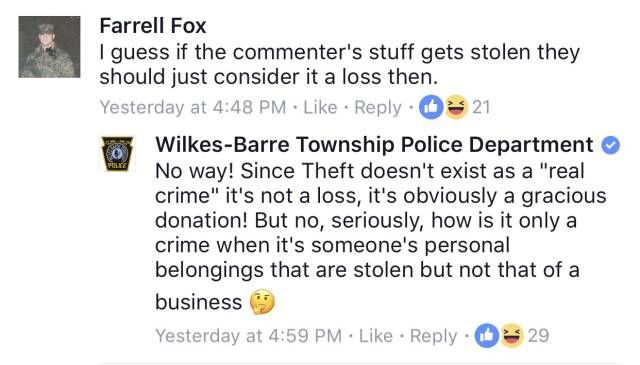 The Friendliest Facebook Police On The Internet