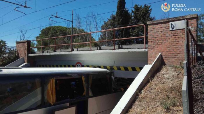 Tourists Have Their Holiday Ruined After Bus Crashes Into Bridge
