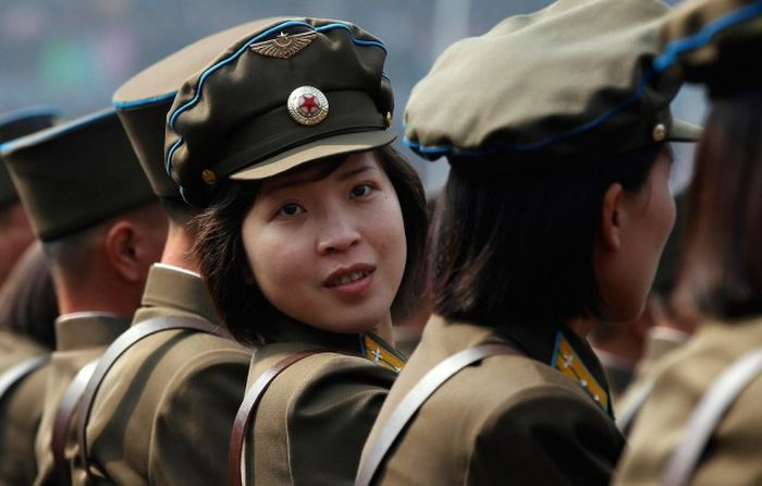 A Day In The Life Of North Korean Girls