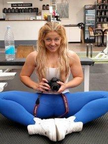Instagram Model Mia Sand Is The Iron Mermaid From Copenhagen