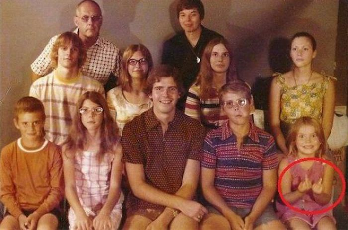 The Most Awkward Family Photos Ever Discovered