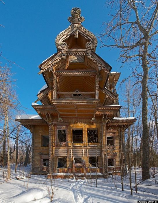 An Assortment Of Strange Houses In The World