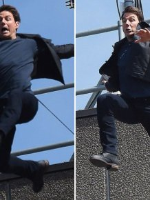 Tom Cruise Breaks Two Bones On The Set Of Mission Impossible 6