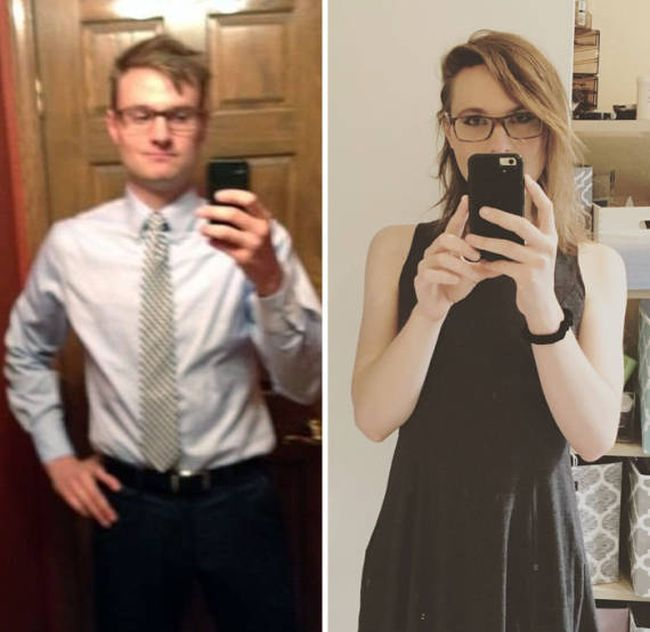 Real Gender Transitions You Won't Believe Show The Same Person