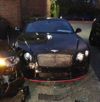 Driver Arrested After Damaging A Bentley And A Rolls Royce