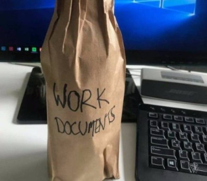 No Matter How Hard You Try You Can't Escape Work