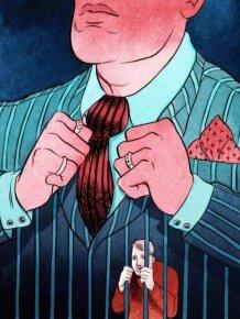 Powerful Illustrations Of Mundane Life In The 21st Century