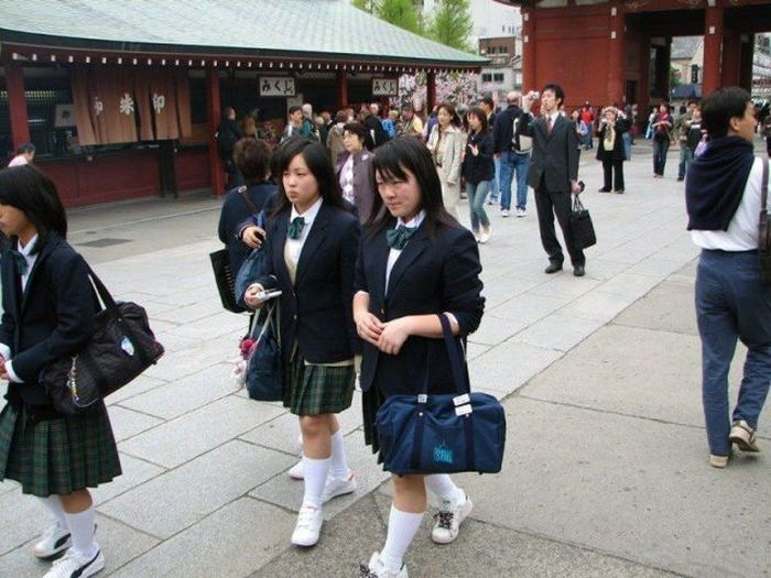 Only in Japan Would You See These Things In Public
