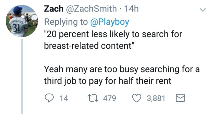 Playboy Gets Owned After Trying To Blame The Millennials