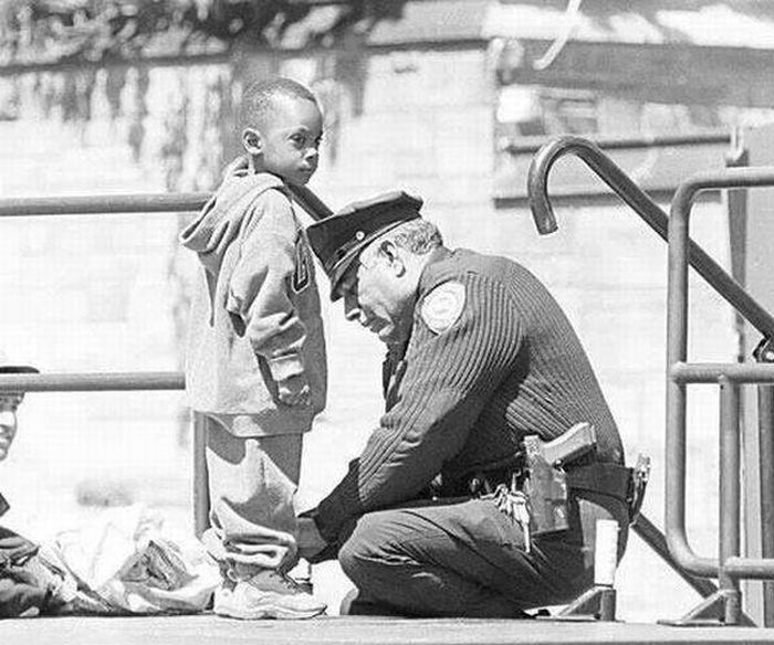 The Story Of A Boy That Will Restore Your Faith In Police