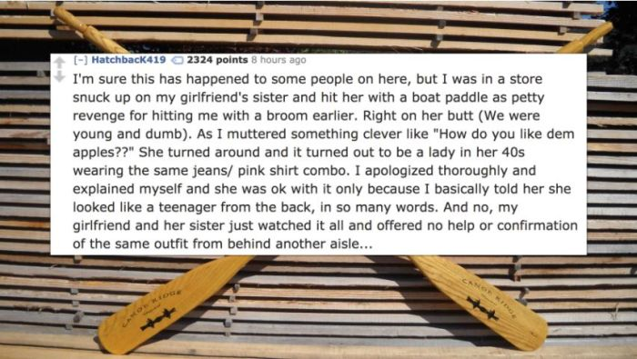 Super Awkward Stories About Accidental Physical Contact