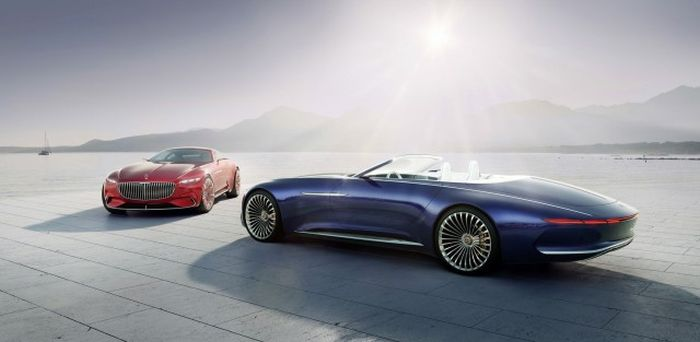 The Mercedes-Maybach 6 Cabriolet Is A Dream Come True