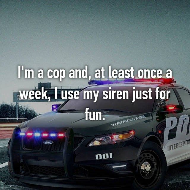 Surprising Anonymous Confessions From Police Officers