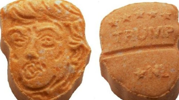 German Police Seize Donald Trump Themed Ecstasy Pills