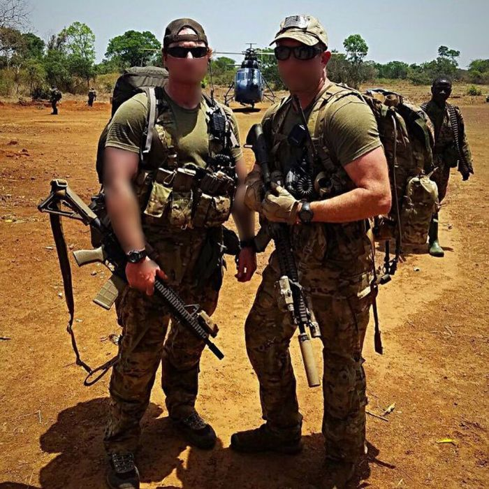 Special Army Soldiers From The United States