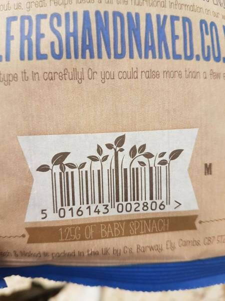 Sometimes Even Barcodes Can Be Creative