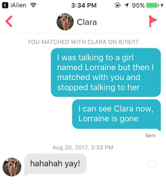 Not All Pick Up Lines Are Created Equal On Tinder