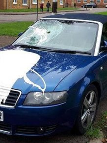Woman Destroys Car To Get Revenge On A Cheater