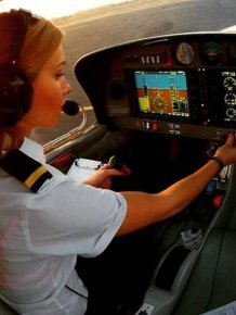 Michelle Is The Pilot Everyone Wants To Fly With