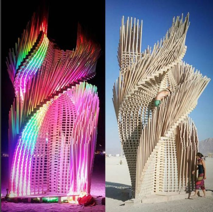 Crazy Art From Burning Man That Will Blow Your Mind Others