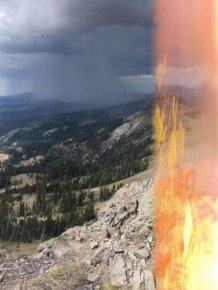 Hiker Miraculously Survives Getting Struck By Lightning