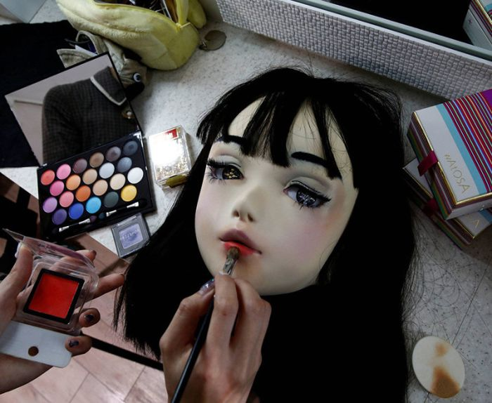 Lulu Hashimoto Is A Real Life Japanese Doll