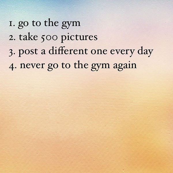 Uninspirational Instagram Quotes That Will Cheer You Down