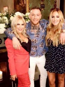 Conor McGregor's Sisters Seem To Be Enjoying His Fortune