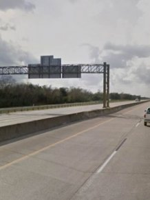 What I-10 Looked Like Before And After Hurricane Harvey