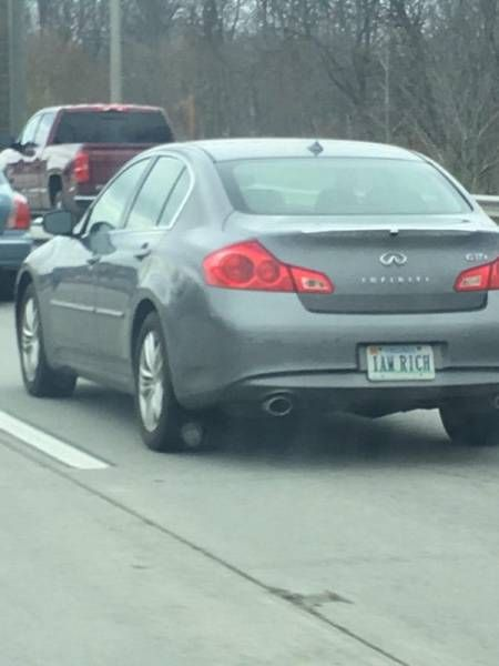 Funny License Plates, part 6