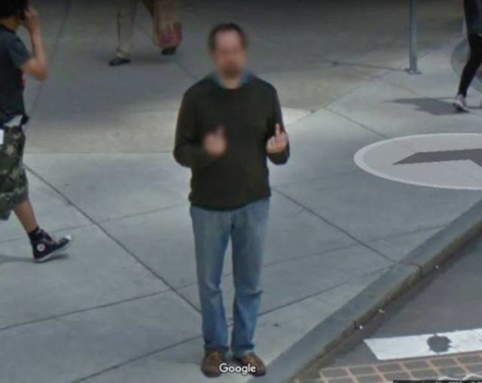 Bizarre Google Street View Photos