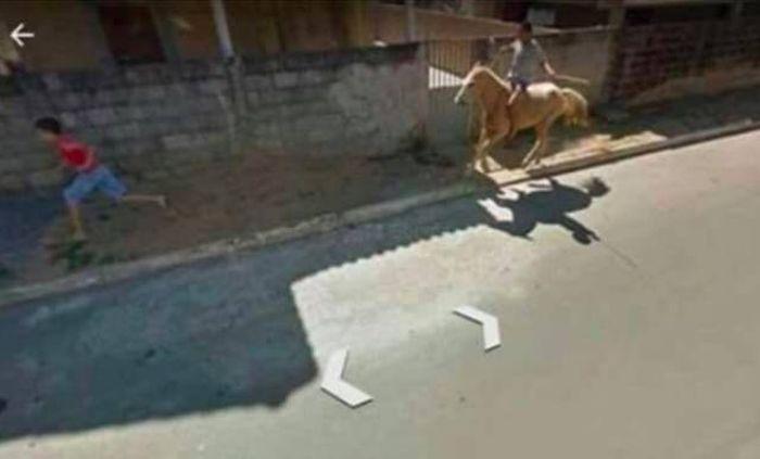 Bizarre Google Street View Photos