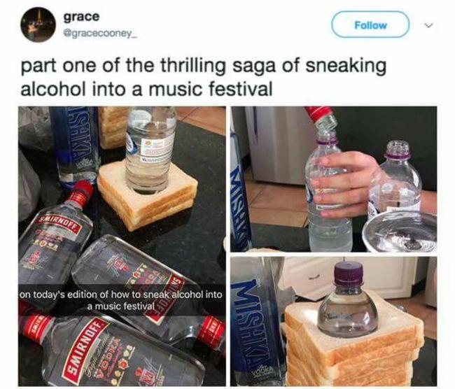 Cool Ways To Smuggle Alcohol