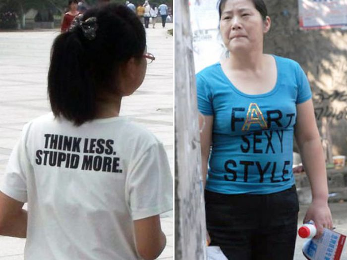 Asians Who Have No Idea What They're Wearing