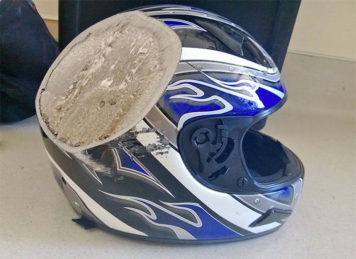 Helmet And Safety on The Road