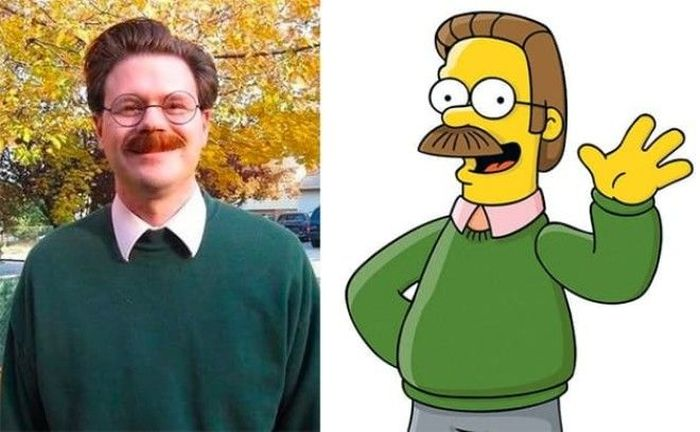 People Who Totally Look Like Real Life Simpsons Characters
