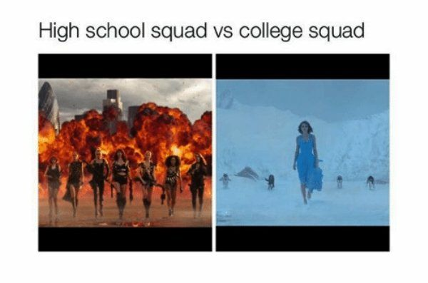 High School vs. College