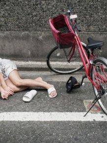 Drunk People in Japan