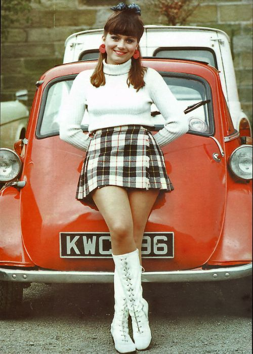 Mini Skirts In The 60s Others