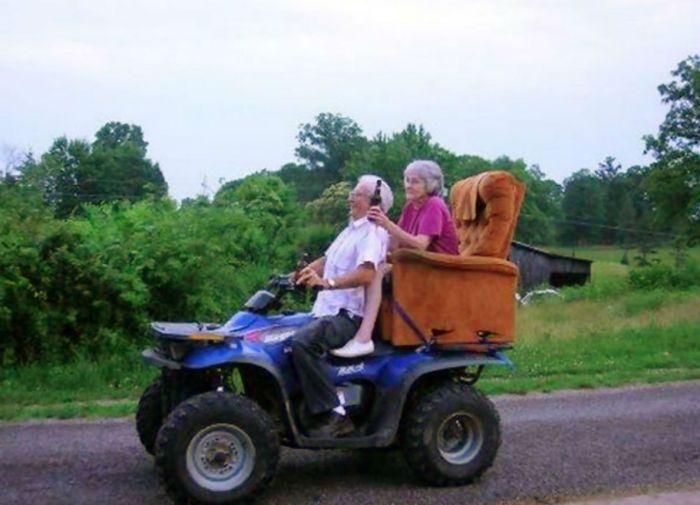 Seniors In Love