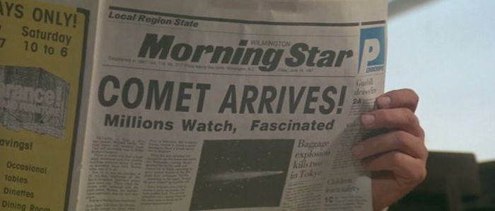 Newspaper Headlines From The Movies
