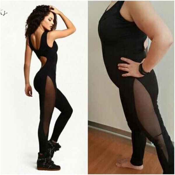 Clothes. Expectation Vs Reality