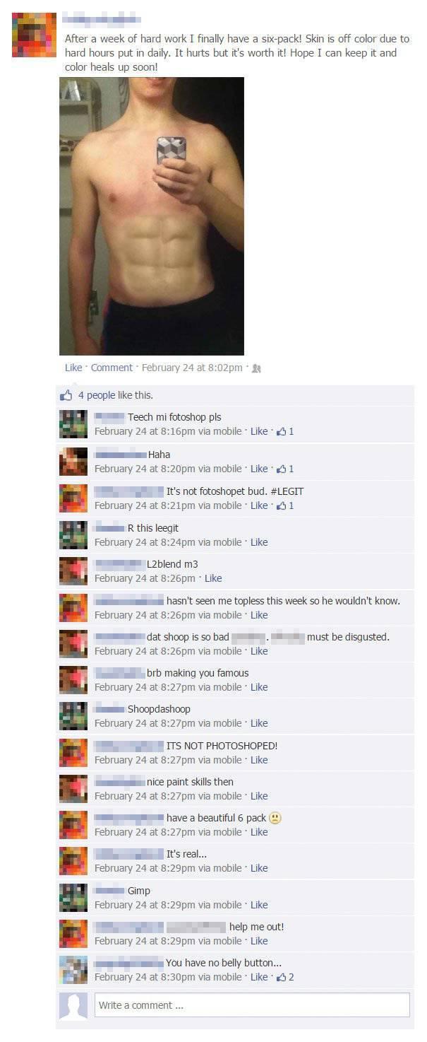 People On Facebook Always Deserve Their Revenge