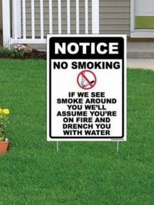 Hilarious Yard Signs