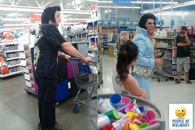 Funny And Strange People Of Walmart