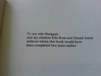 Interesting Book Dedications