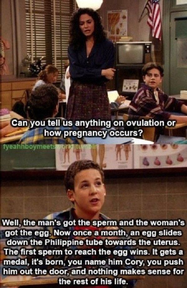 """The Best Moments From The """"Boy Meets World"""""""