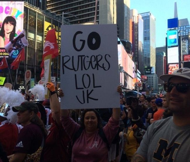 The Best College GameDay Signs