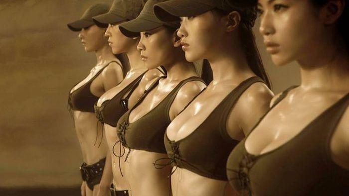 Army Girls Of China
