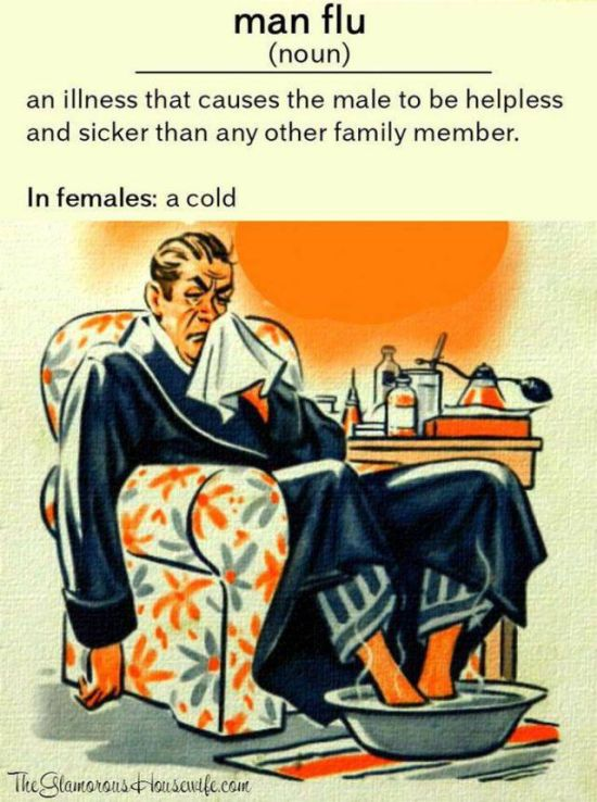 Women Will Never Understand How Lethal Cold Can Be To A Man
